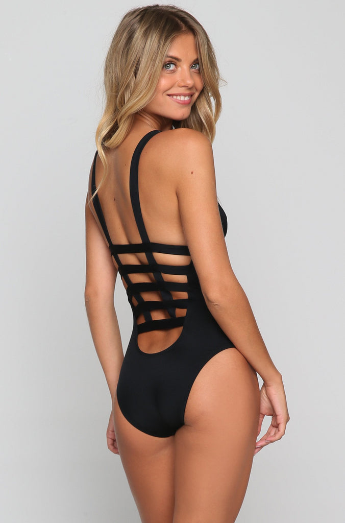 Neutra Maillot One Piece in Eco Black