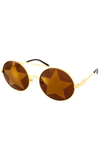 WILDFOX 2015 Starstruck Sunglasses in Gold|ISHINE365 - 3