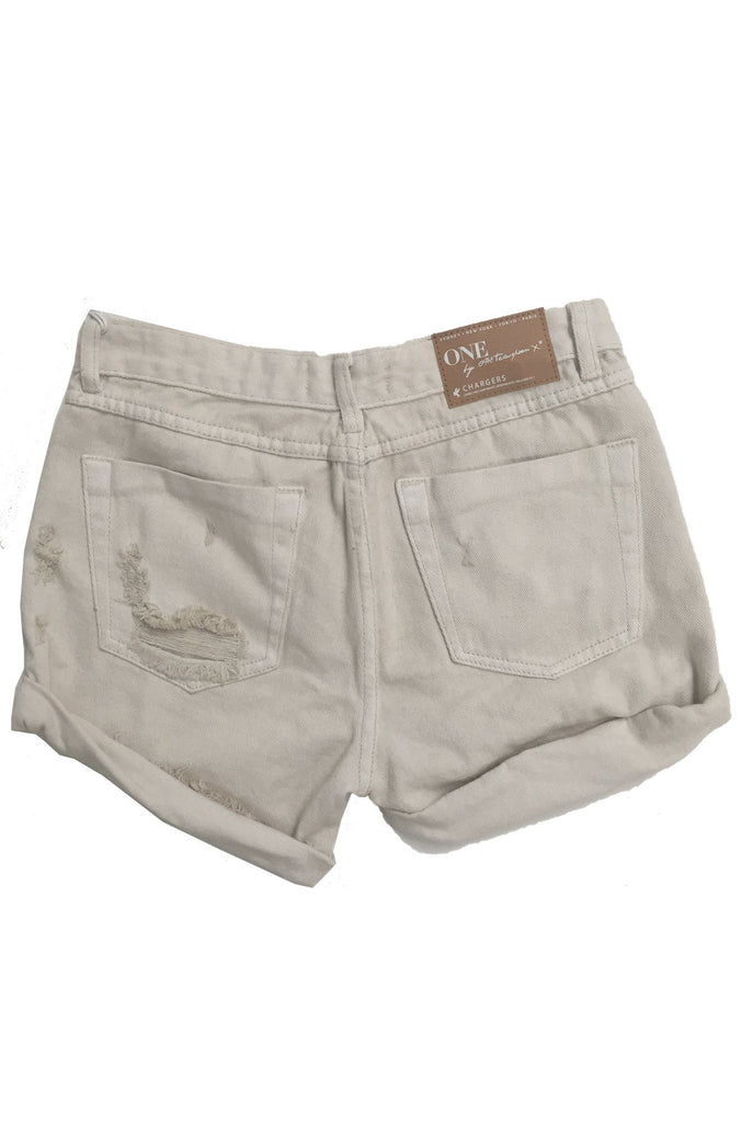 One Teaspoon Chargers Shorts in L'Stone|ISHINE365 - 5