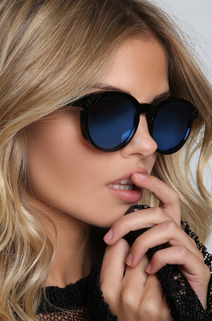 Harper Deluxe Sunglasses in Black