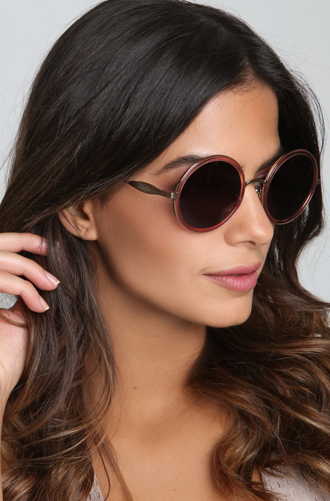 Ryder Sunglasses in Rosewater