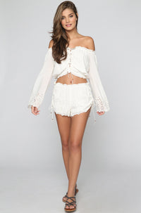 Winston White Capri Short in Shell|ISHINE365 - 3
