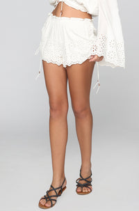 Winston White Capri Short in Shell|ISHINE365 - 1
