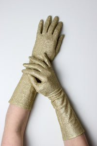 Gold Opera Gloves