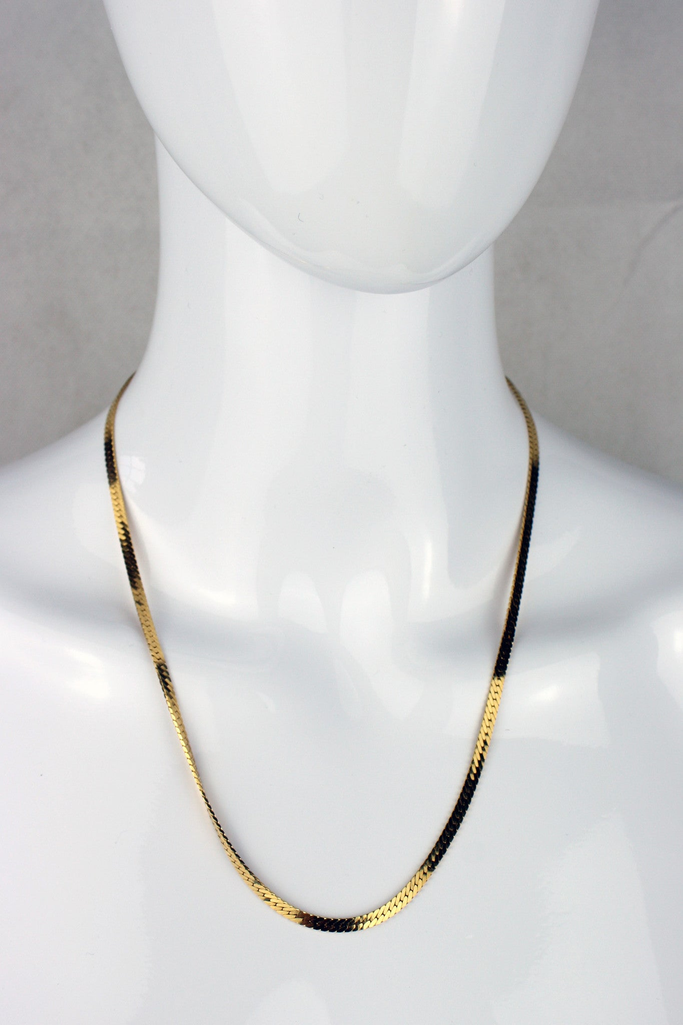 Monet Herringbone Necklace