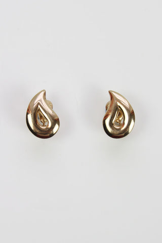 Monet teardrop earrings