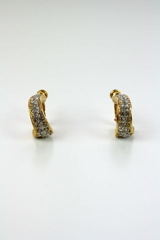 Napier Diamanté Earrings