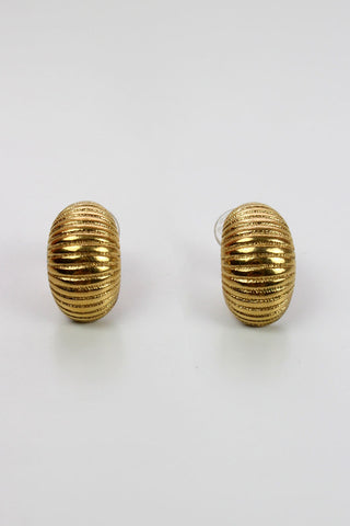 Monet Ribbed Earrings
