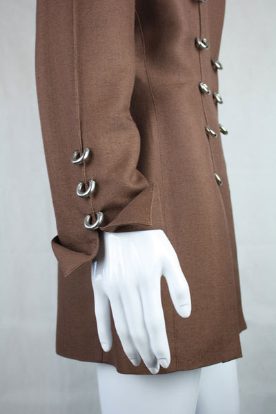 Thierry Mugler D-Ring Jacket