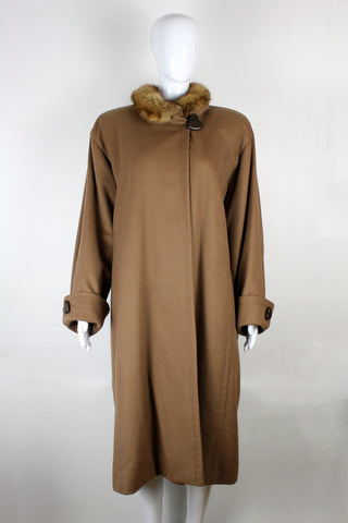 Yves Saint Laurent Cashmere Coat