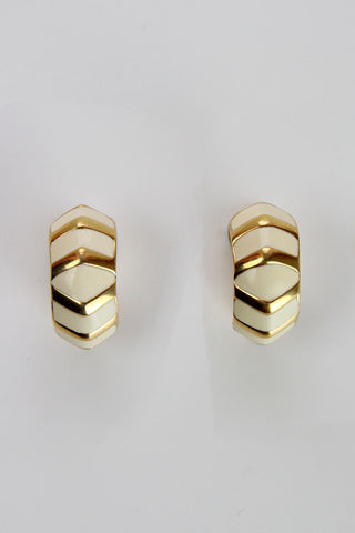 Monet Chevron Earrings