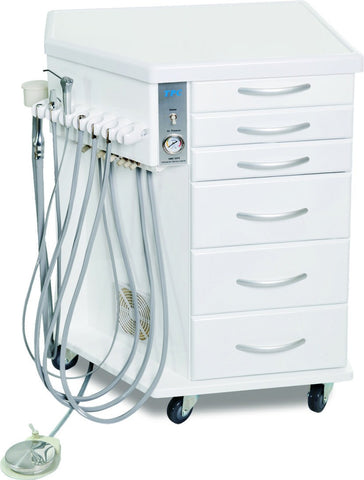 TPC Dental OMC-2375 Orthodonic Mobile Delivery Cabinet with Warranty