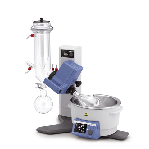 IKA 10003574 RV 8 with Dry Ice Condenser, Coated Rotary Evaporator