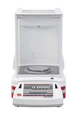 OHAUS EX224 EXPLORER ANALYTICAL BALANCE 220g 0.0001g 0.1mg - 2Y WARRANTY