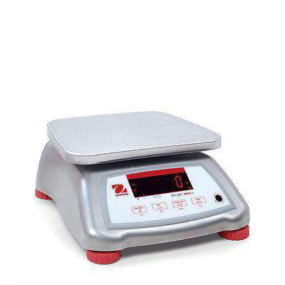 OHAUS VALOR V41XWE6T 6000g 1g WATER RESISTANT COMPACT FOOD SCALE 2YWRRNTY NTEP