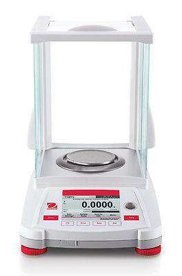 OHAUS AX124/E ADVENTURER ANALYTICAL BALANCE 120g 0.0001g0.1mg -2 YEAR WARRANTY - Ramo Trading