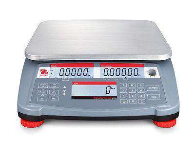 OHAUS RANGER RC31P1502 1500g 0.05g MULTIPURPOSE COMPACT COUNTING SCALE NTEP