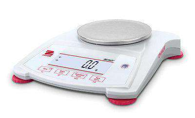 OHAUS Scout SPX123, Capacity 120g, Portable Balance Scale 2 Year Warranty