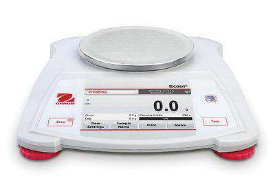 OHAUS Scout STX222  Capacity 220g Portable Balance Scale 2 Year Warranty - Ramo Trading