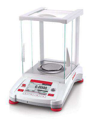 OHAUS AX124 ADVENTURER ANALYTICAL BALANCE 120g 0.0001g 0.1mg - 2YEAR WARRANTY - Ramo Trading