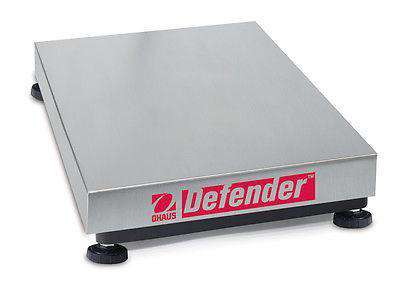 Ohaus D150VX Defender Rectangular Washdown Base 300 LB / 150 KG With Warranty - Ramo Trading