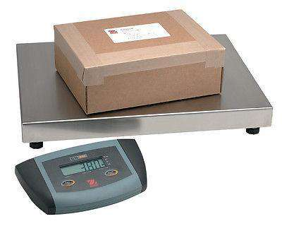 OHAUS ES200L 400lb 0.12b  MULTIPURPOSE LOW PROFILE SHIPPING SCALE 3YWRRNTY - Ramo Trading