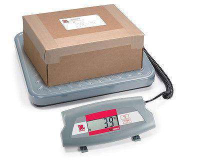 Ohaus SD75 SD Compact Bench Scale Cap 165lb Read 0.1lb NEW WITH 2 YEAR WARRANTY