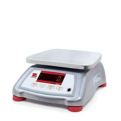 OHAUS VALOR V22XWE6T 6000g 1g WATER RESISTANT COMPACT FOOD SCALE 2YWARRANTY