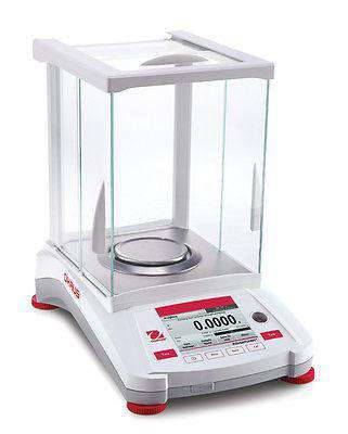 OHAUS AX224 ADVENTURER ANALYTICAL BALANCE 220g 0.0001g 0.1mg - 2 YEAR WARRANTY
