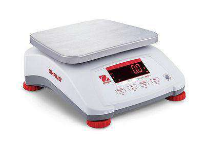 OHAUS VALOR V41PWE6T 6000g 1g WATER RESISTANT COMPACT FOOD SCALE WRNTY NTEP - Ramo Trading