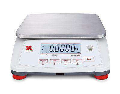 Ohaus V71P15T Valor 7000 Compact Bench Scale 30 lb Food Scale with Warranty