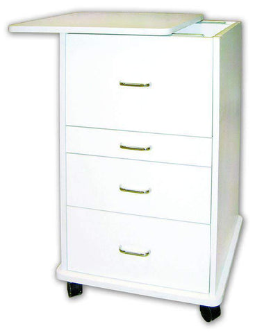 TPC Dental TMC-160-W ASSISTANT ALABAMA MOBILE CABINET (White) with Warranty