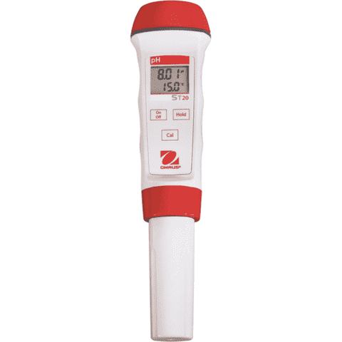 Ohaus Pen Meter ST20 pH pen meter, resolution 0.01 pH, temperature display