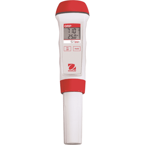 Ohaus ST20R ORP pen meter, measurement range -1000mV to 1000mV, temperature display
