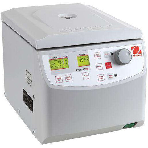 Ohaus FC5515 Frontier 5000 Series 230Volt Micro centrifuge max RPM 15200 max RCF 21953 x g Full Warranty