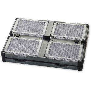 OHAUS 4 PLACE STACKABLE MICROPLATE HOLDER FOR VXHD VORTEX