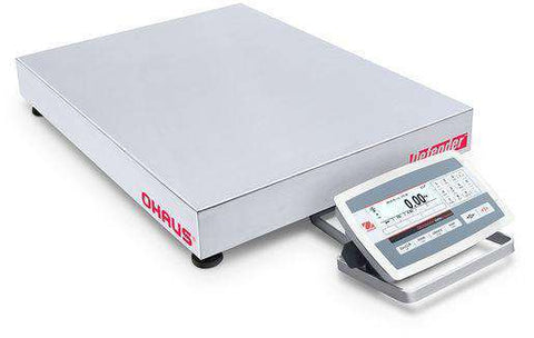 Ohaus D52XW250WTX5 Defender 5000 Low Profile Washdown Bench Scale, 500 x 0.02 lbs with Warranty
