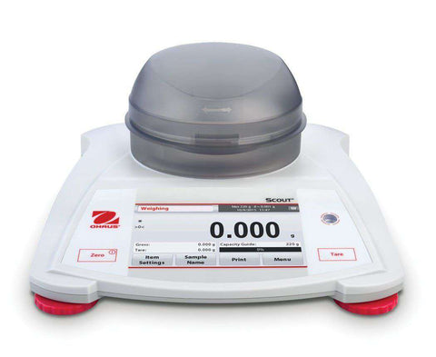 OHAUS Scout STX223  Capacity 220g Portable Balance Scale 2 Year Warranty - Ramo Trading