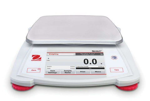 OHAUS Scout STX6201 Capacity 6200g Portable Balance Scale 2 Year Warranty