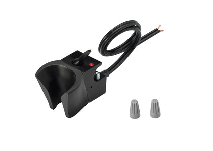 DCI Holder, Electric Auto, Normally Closed, Black
