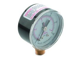 DCI Round Pressure Gauge, 0 to 60 PSI