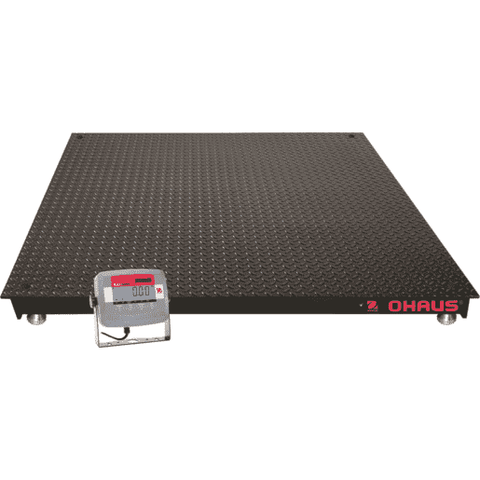 OHAUS VN31P5000X ECONOMICAL FLOOR SCALE 5000lb 1lb 2500kg 0.5kg 2 YEAR WARRANTY - Ramo Trading