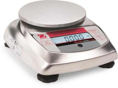 OHAUS VALOR V31X501 500g 0.1g STAINLESS STEEL COMPACT PRECISION FOOD SCALE WRNTY