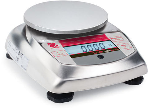 OHAUS VALOR V31XH402 400g 0.1g STAINLESS STEEL COMPACT PRECISION FOOD SCALE