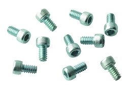DCI Screw, Socket Head, 6-32 x 1/4, Zinc; Pkg of 10