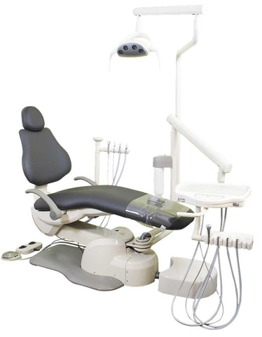 Flight Dental System A6EP-102 Flight A6 Operatory Package Radius LEFT/RIGHT Package NO Cuspidor with Warranty