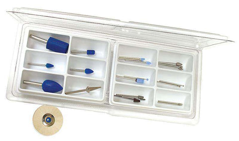 Foredom AK23 Frank Russell Woodcarving Kit Basic 22-Pc