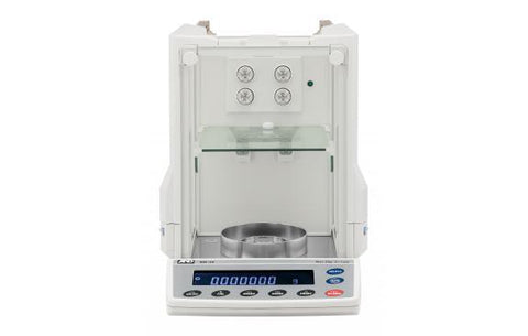 A&D Weighing Ion BM-300 Analytical Balance, 320g x 0.1mg with Internal Calibration with Warranty