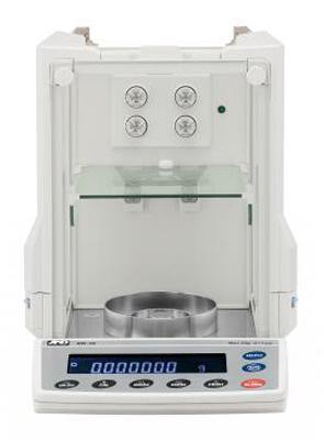 A&D Weighing Ion BM-5D Microbalance, 5.2/2.1g x 0.001/0.01mg with Internal Calibration and Static Eliminator
