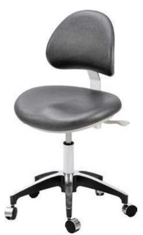 TPC Dental DR-7000-DU Solace Doctor Stool with Triple Lever Adjustment
